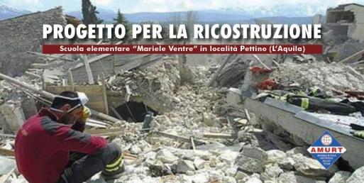ricostruzione scuola
